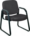 OFM Vinyl Guest Chair w/ Anti-Bacterial-Anti Microbial Vinyl Covering