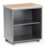 OFM Mobile Utility/Fax/Copy Table With Shelf