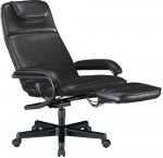 OFM Power Rest Executive Recliner w/ Manual Pull-Out Foot Rest (OFM-680)