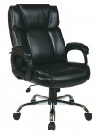 Office Star Eco Leather Big Man's Office Chair Supports Up To 350 lbs. (OS-EC1283C-EC3)