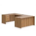Offices To Go Laminate U-Shape Desk w/ Filing System