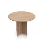 Offices To Go Round Conference Table w/ Cross Base (OTG-SL4XR)