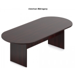 Offices To Go Racetrack Conference Table in 3 Different Sizes
