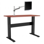 "NewHeights� Fixed Height Stand Up Desk Choose Any Custom Height For Your Desk Between 22"" and 52"" Tall (RA-24XXNFWT) **Made in the USA**"