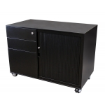 RightAngle Mobile Tambour Cabinet w/ Side Pull Door