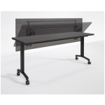 RStyle Flip Series Training Room Table w/ Optional Steel Modesty Panel (RA-FXXXXW)