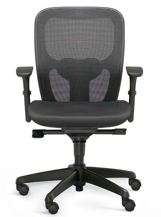 valo polo mesh back task chair w optional headrest