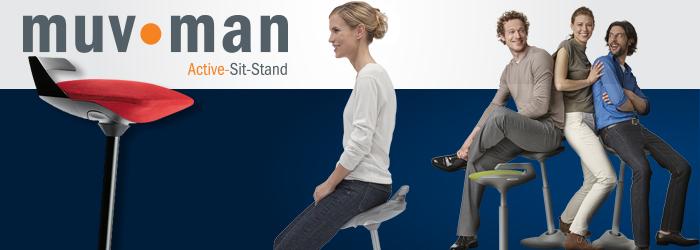 Aeris Gmbh aeris gmbh muvman swivel sit to stand chair on sale