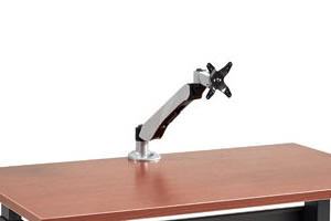 Single Premium Monitor Arm