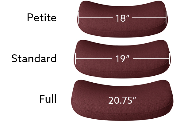 seat size