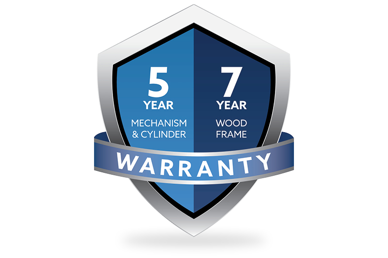5/7 Year Warranty