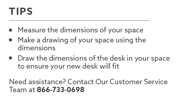 VertDesk Dimensions Tips