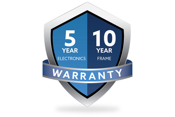 5/10 Year Warranty